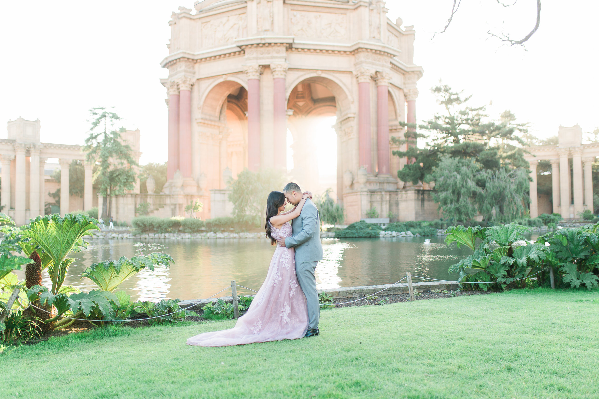 Palace of Fine Arts Engagement Photos - Lover's Lane San Francisco Engagement Session by JBJ Pictures Wedding Photographer in San Francisco (24).jpg