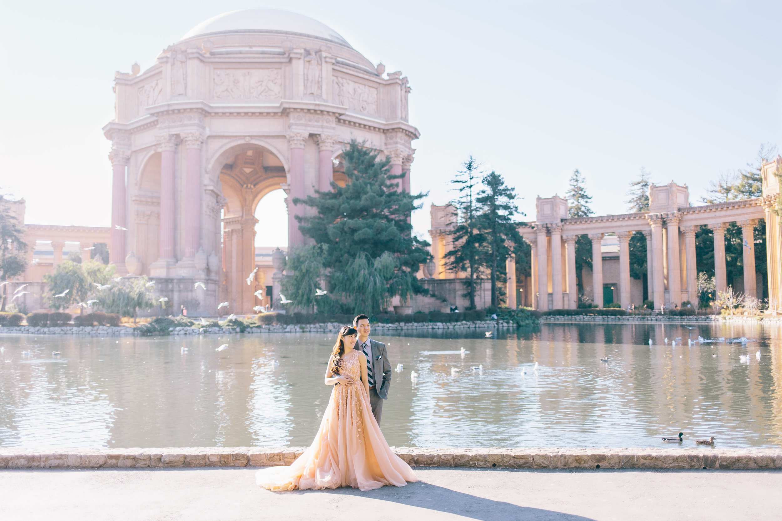 Best Engagement Photo Locations in San Francisco - Palace of Fine Arts Engagement Photos by JBJ Pictures (5).jpg