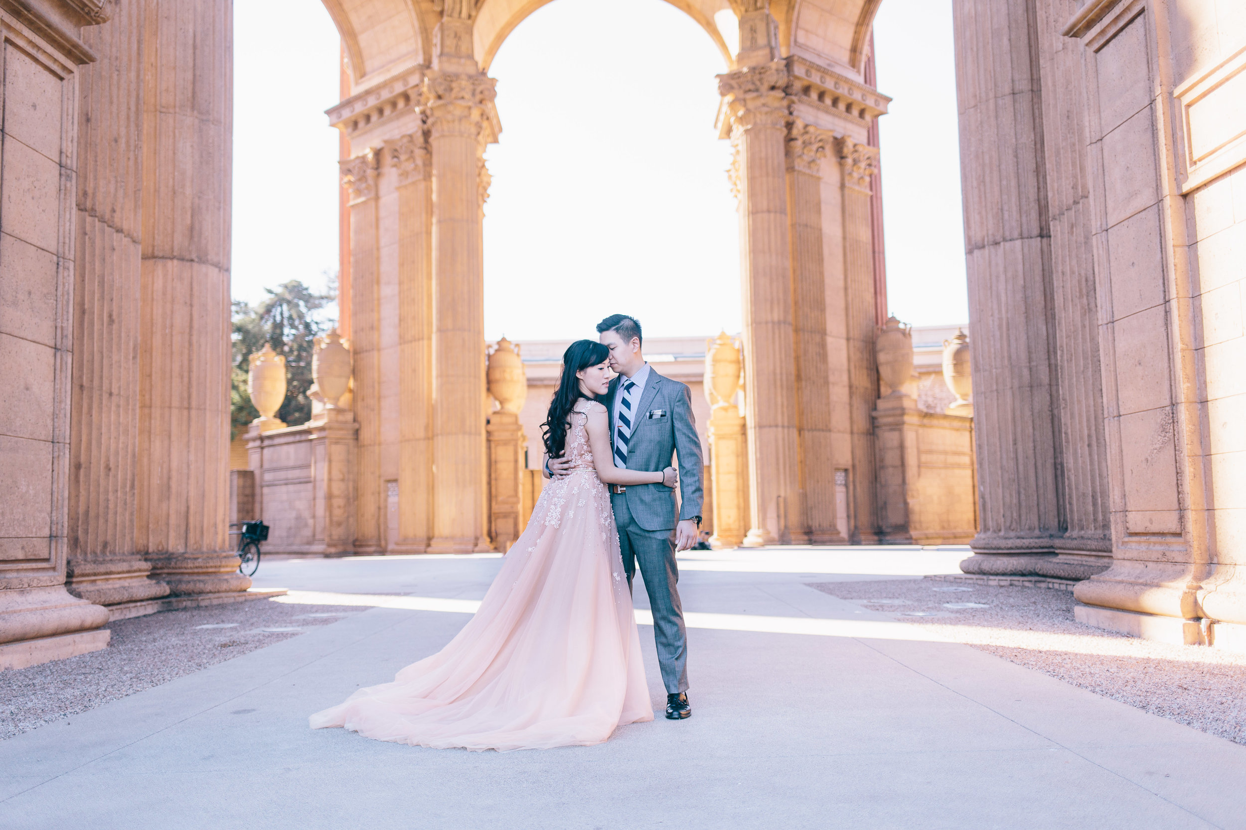Best Engagement Photo Locations in San Francisco - Palace of Fine Arts Engagement Photos by JBJ Pictures (7).jpg