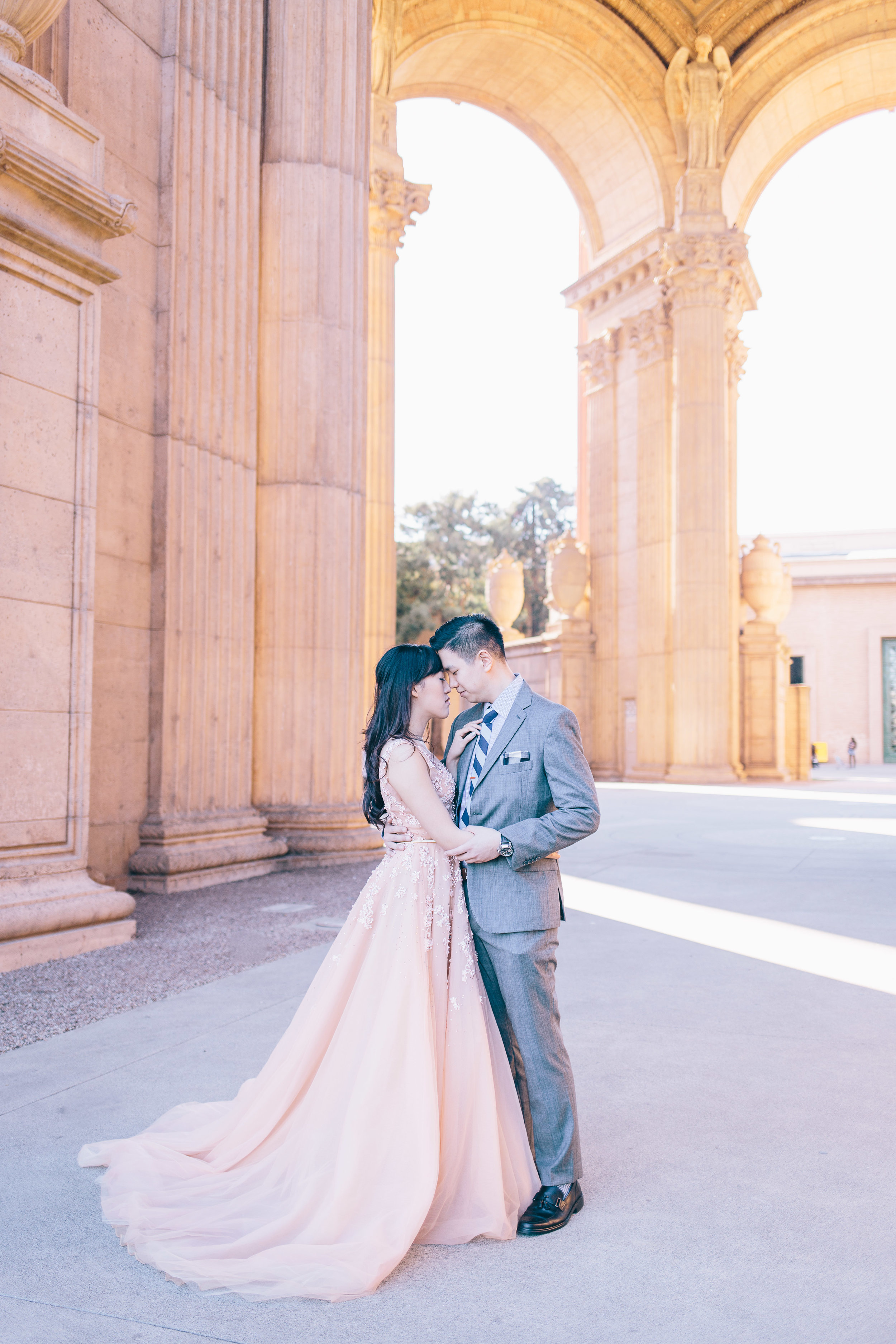 Best Engagement Photo Locations in San Francisco - Palace of Fine Arts Engagement Photos by JBJ Pictures (8).jpg