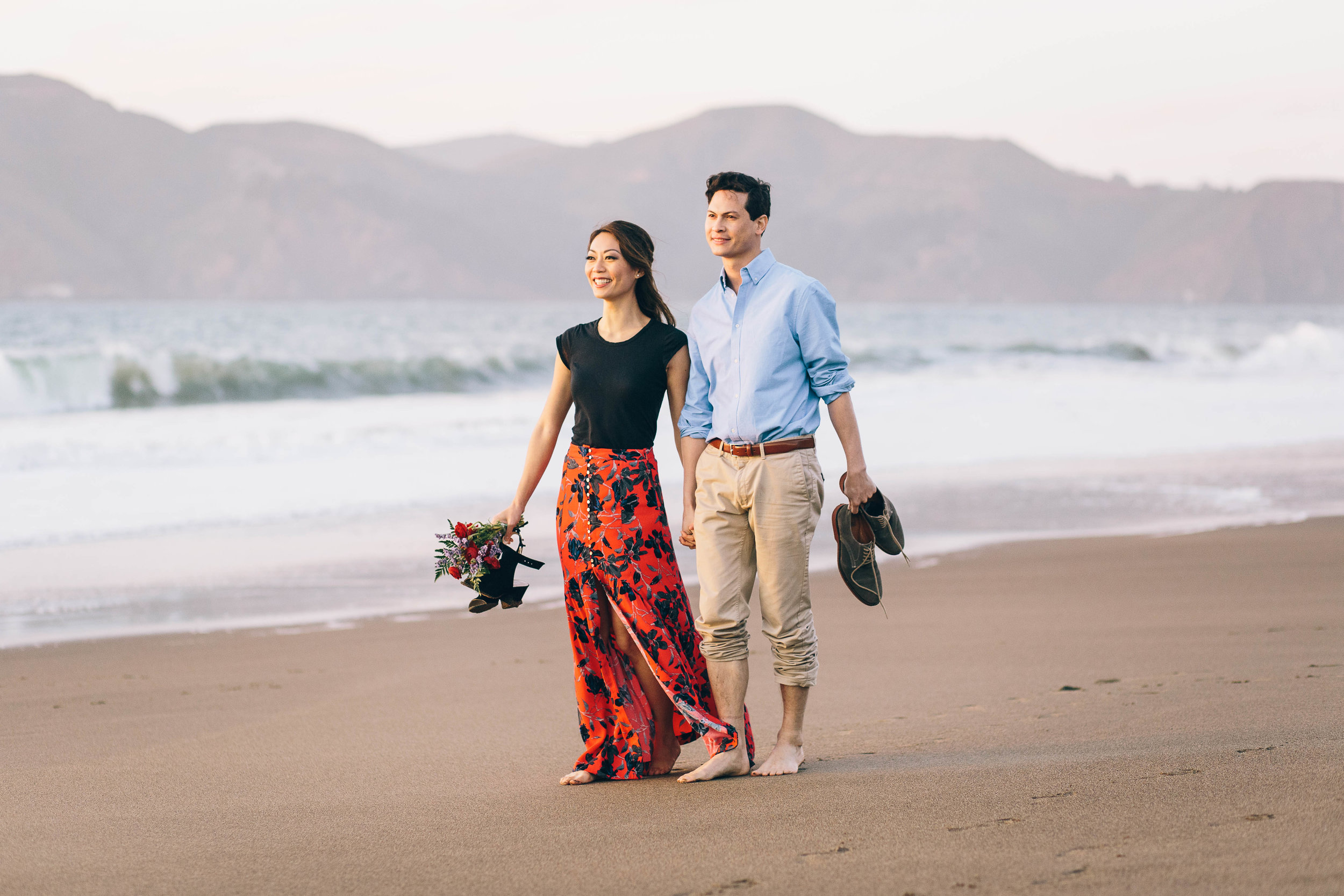 Best Engagement Photo Locations in San Francisco - Baker Beach Engagement Photos by JBJ Pictures (3).jpg
