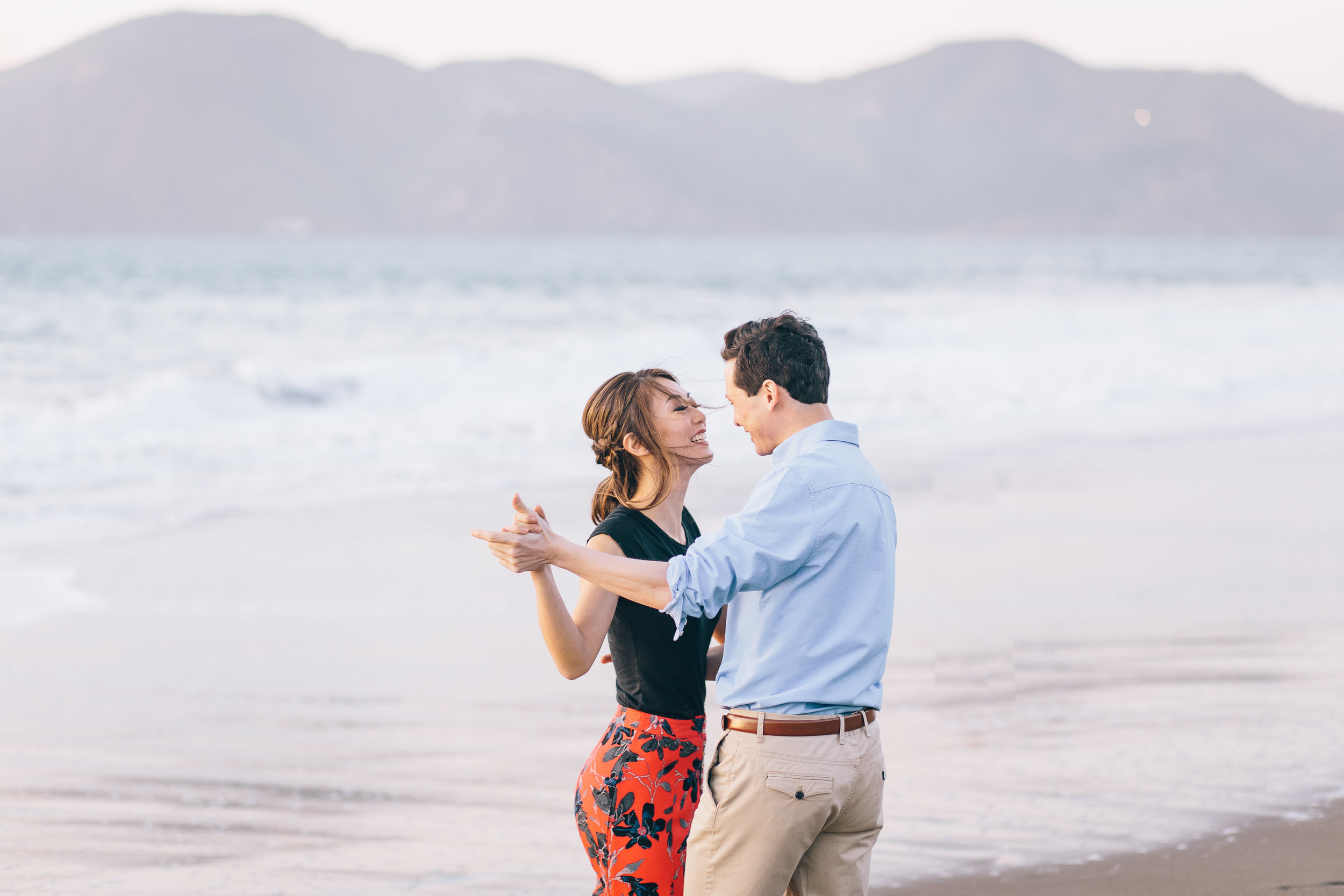 Best Engagement Photo Locations in San Francisco - Baker Beach Engagement Photos by JBJ Pictures (4).jpg