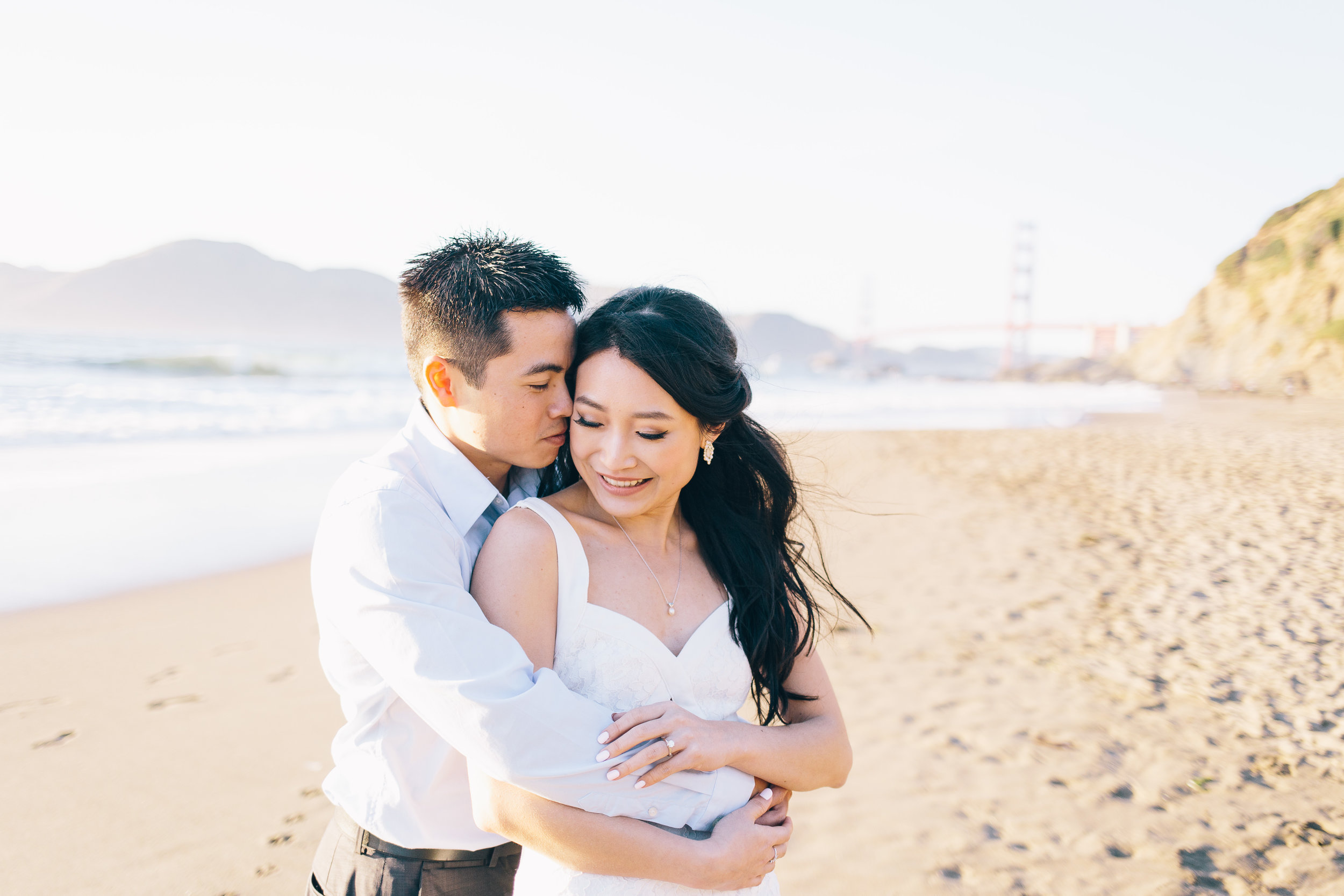 Best Engagement Photo Locations in San Francisco - Baker Beach Engagement Photos by JBJ Pictures (15).jpg