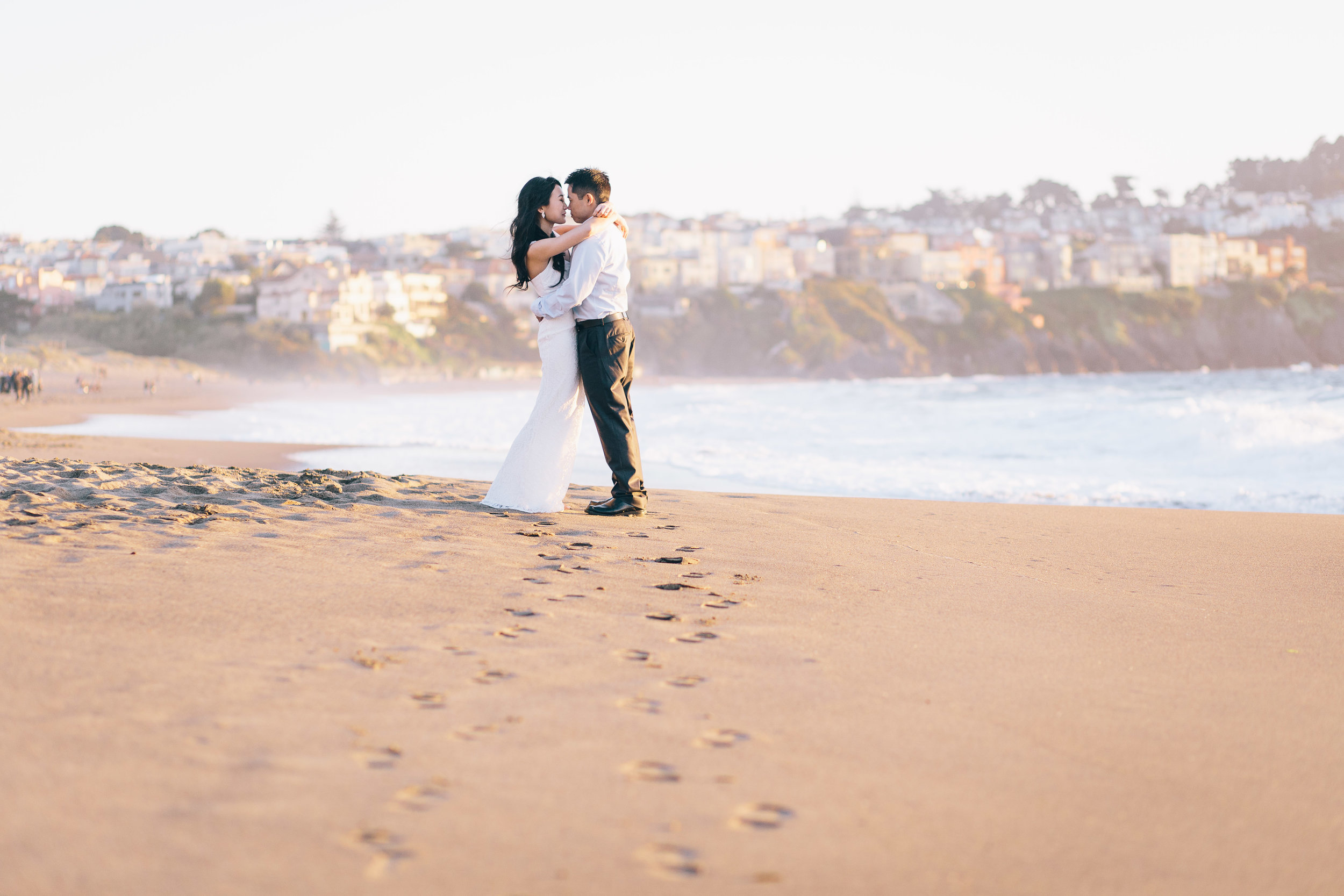 Best Engagement Photo Locations in San Francisco - Baker Beach Engagement Photos by JBJ Pictures (20).jpg