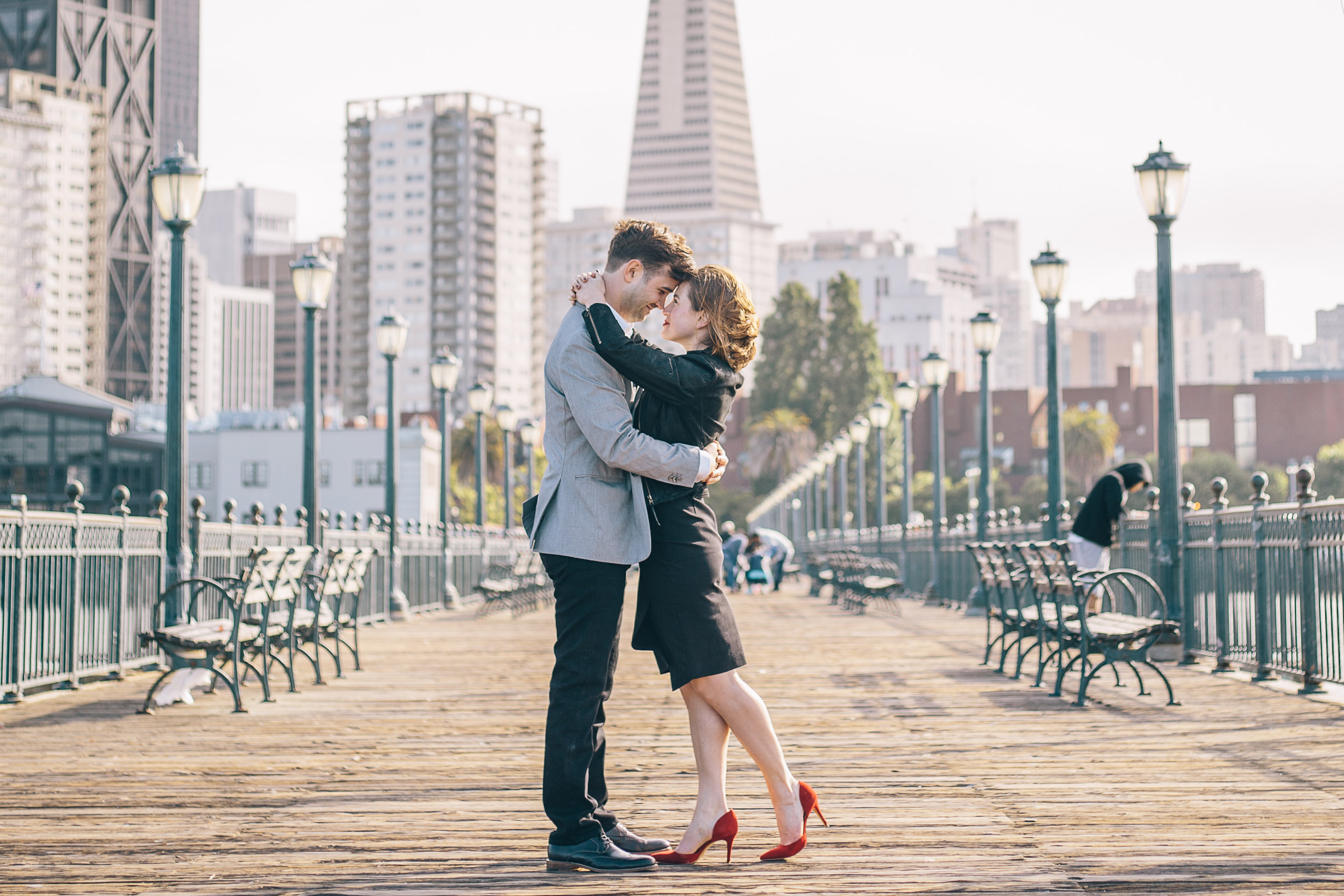 Pier 7 Engagement Photos by JBJ Pictures - Pre-wedding Photo Session in San Francisco (6).jpg