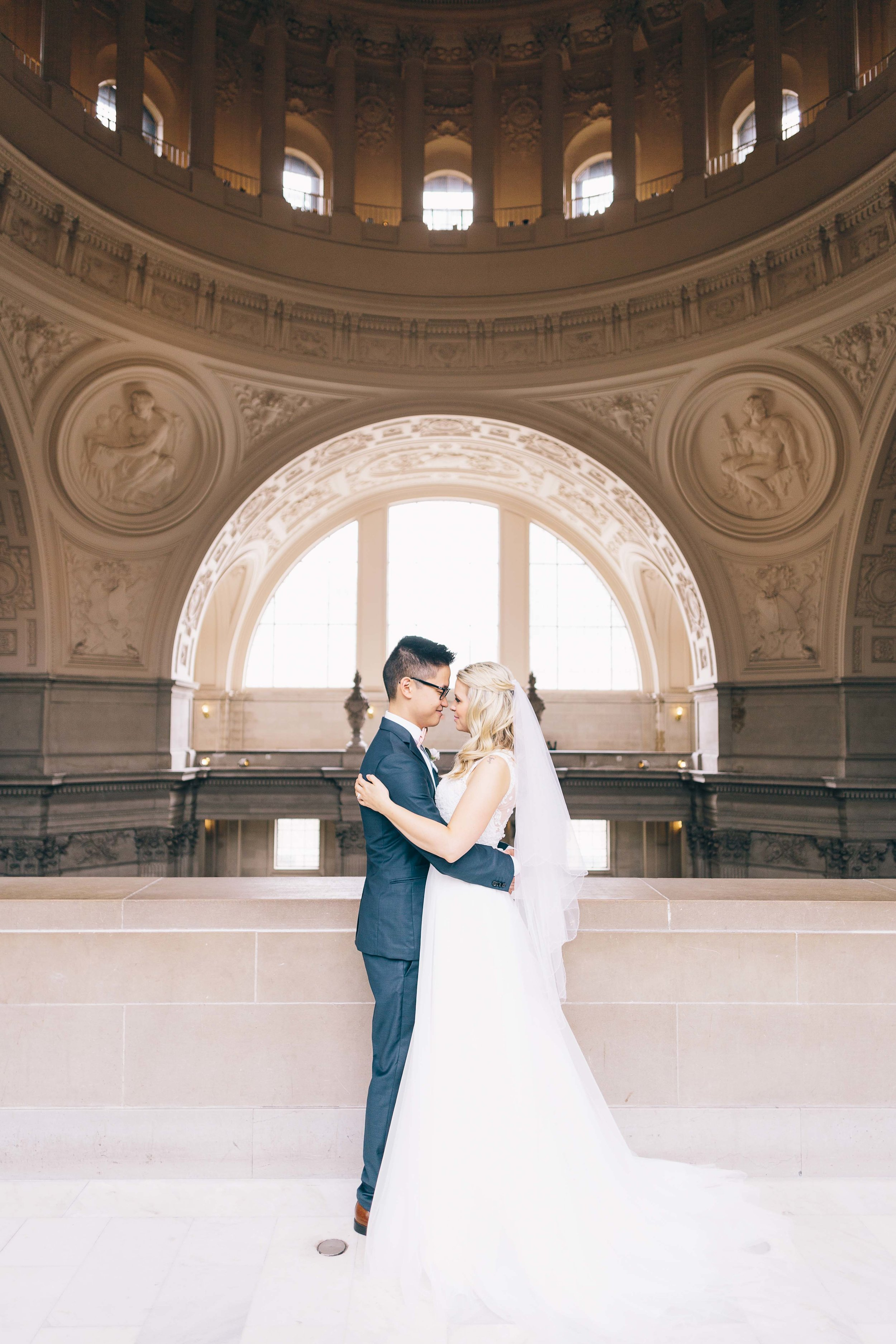 San Francisco City Hall Pre-Wedding Photos by JBJ Pictures - SF City Hall Wedding and Engagement Photos (17).jpg