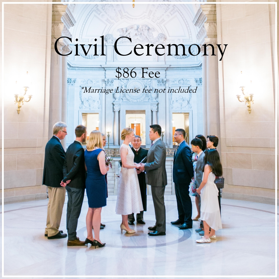 Civil ceremonies can be booked using a simple online    booking platform   , which is discussed again later in this article.