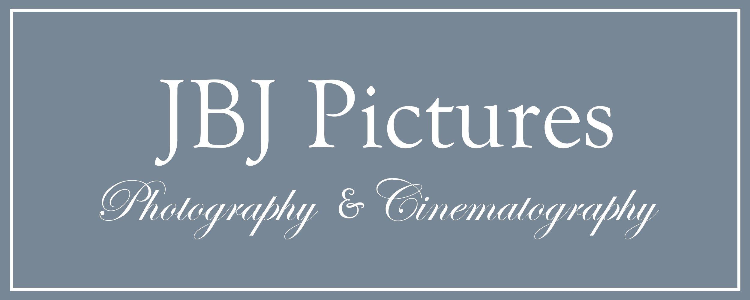 JBJ Pictures Logo - NEW 3 White  Text - Grey Background.jpg