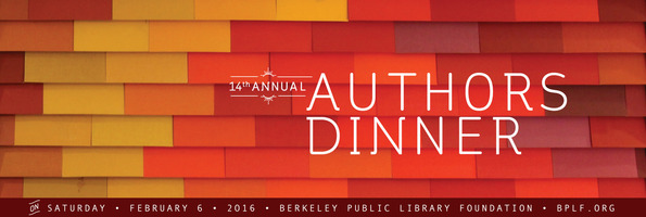 I was thrilled to be a featured artist at the  Berkeley Public Library Authors Dinner  on February 6, 2016.