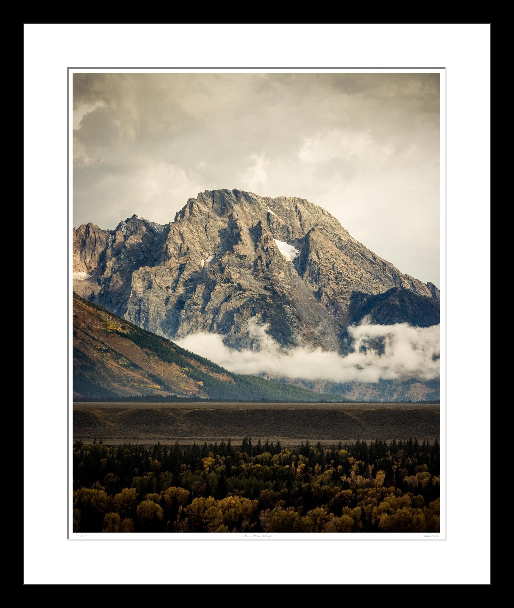Mount Moran, Wyoming