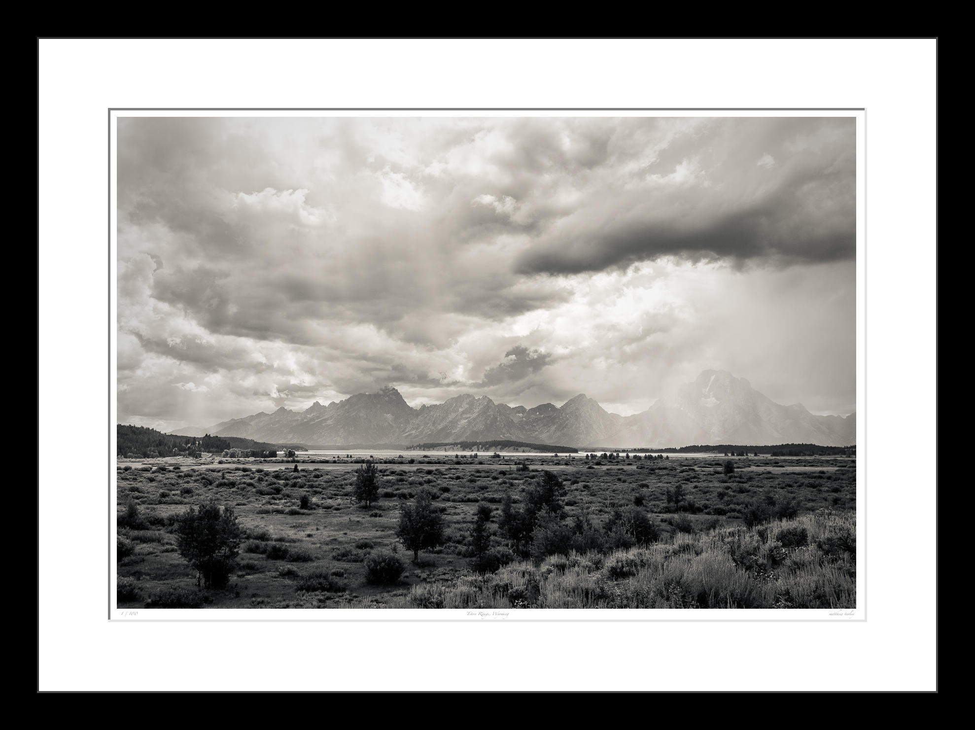 Teton Range, Wyoming