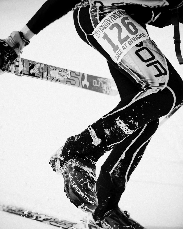 2011 Powderkeg SkiMo race
