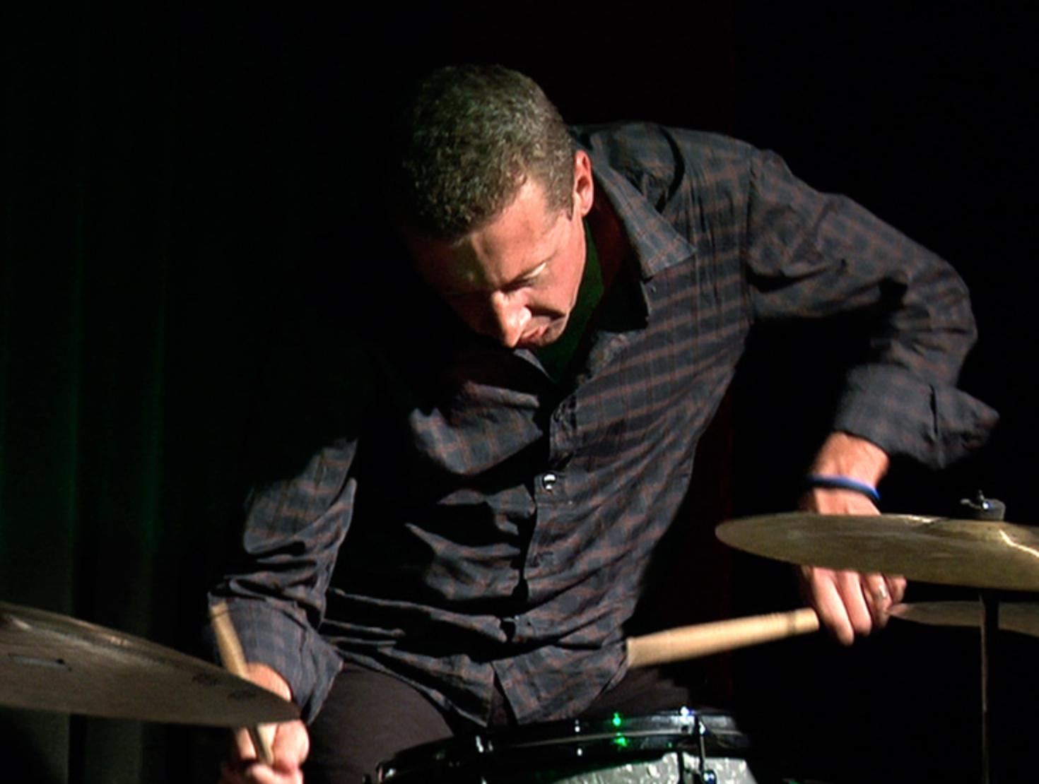Simon Barker, drums