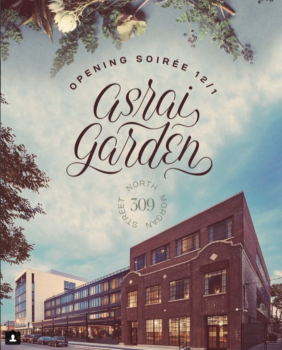 Asrai Garden Grand Opening at the Ace Hotel - when: saturday, december 1st who: lots of cool designers / business ownerswhat: opening soireewhere: ace hotel chicagowhy: because asrai garden is the best