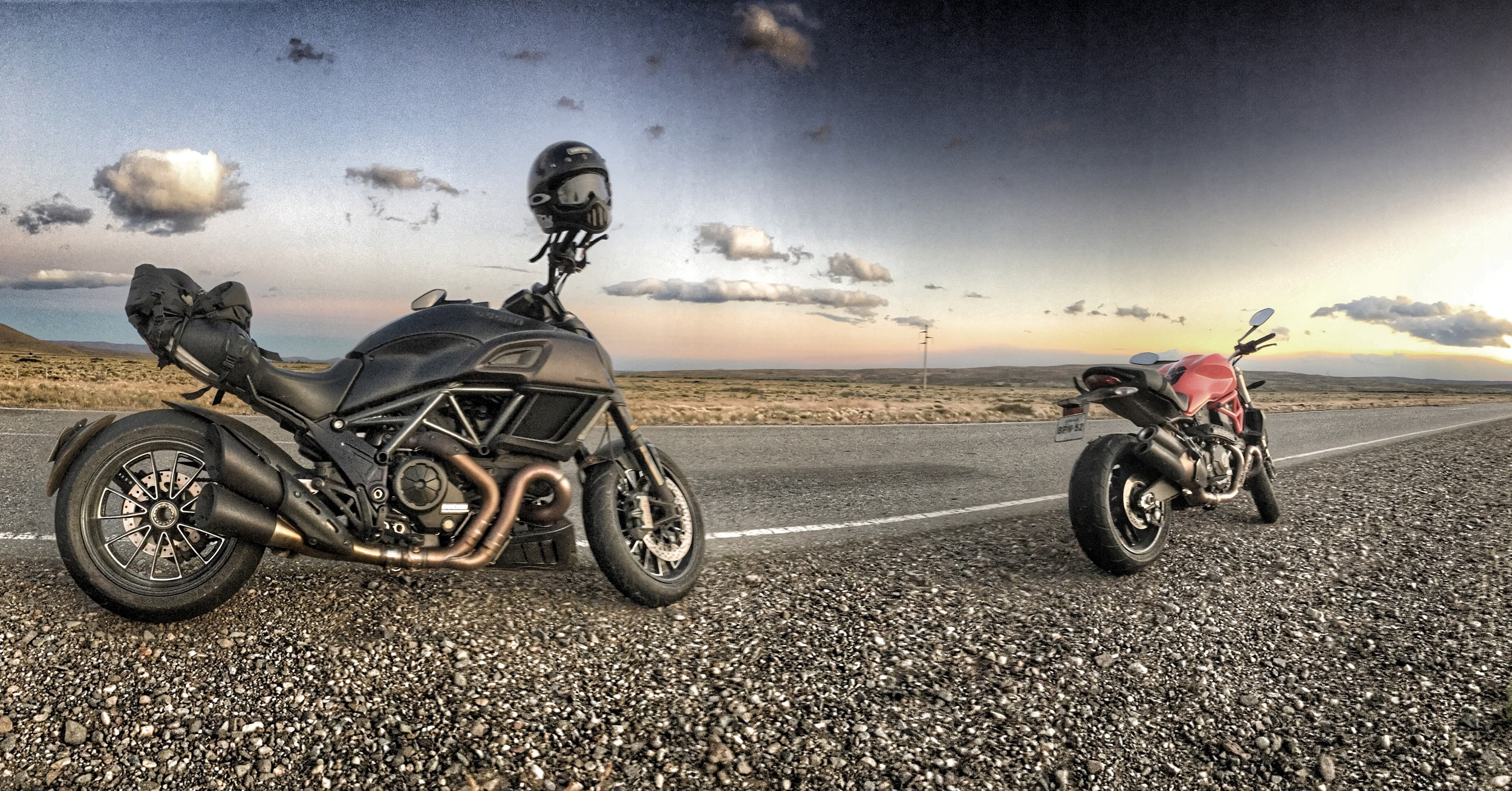 Ducatis finest.