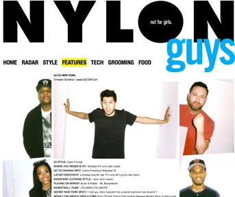 NYLON GUYS: 5 NY DJ's YOU SHOULD KNOW