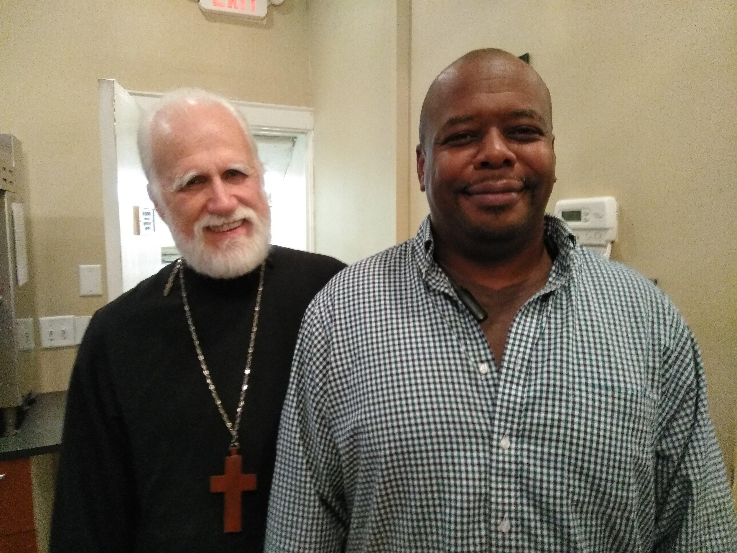 Fr Tom and Orlando Humble
