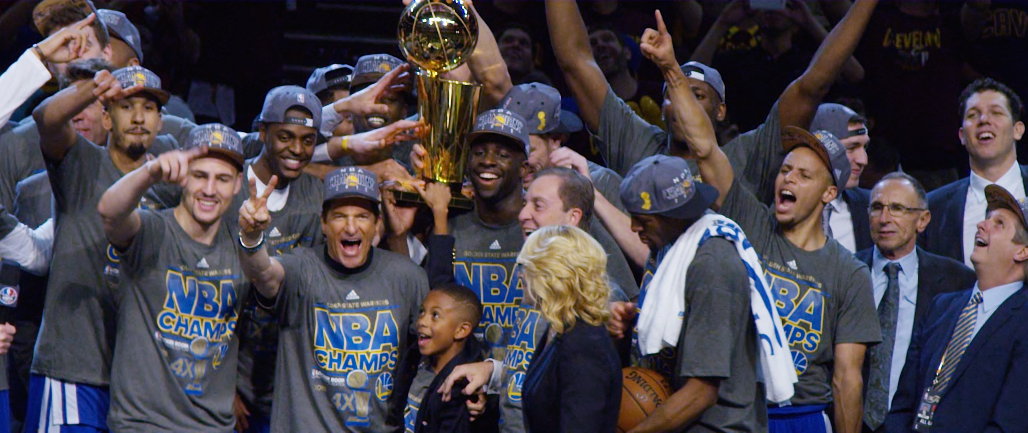 DRAYMOND TALKS WINNING THE NBA TITLE - BLEACHER REPORT   WATCH