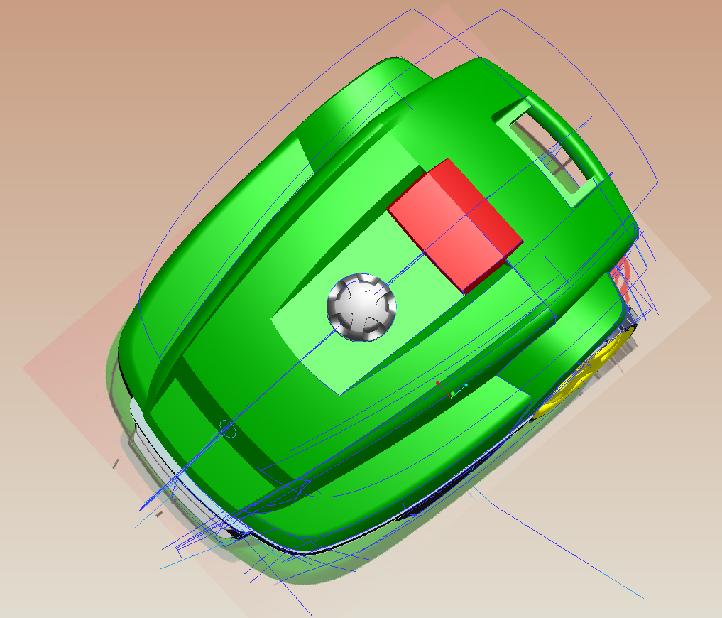 3D CAD surface development