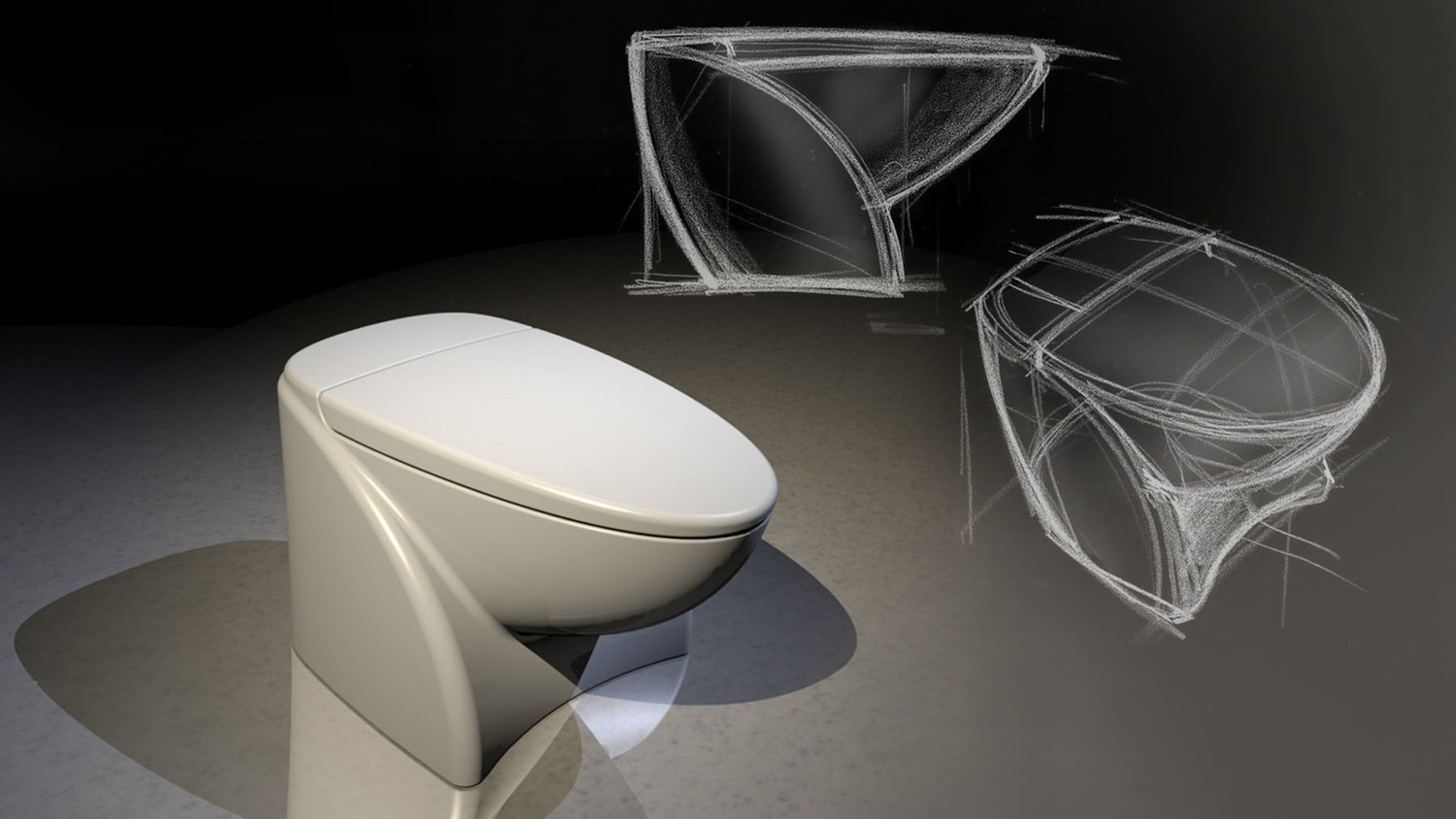 American Standard Insync Concept Toilet