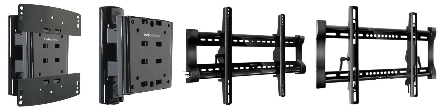Production units ofBell'O wall mounts