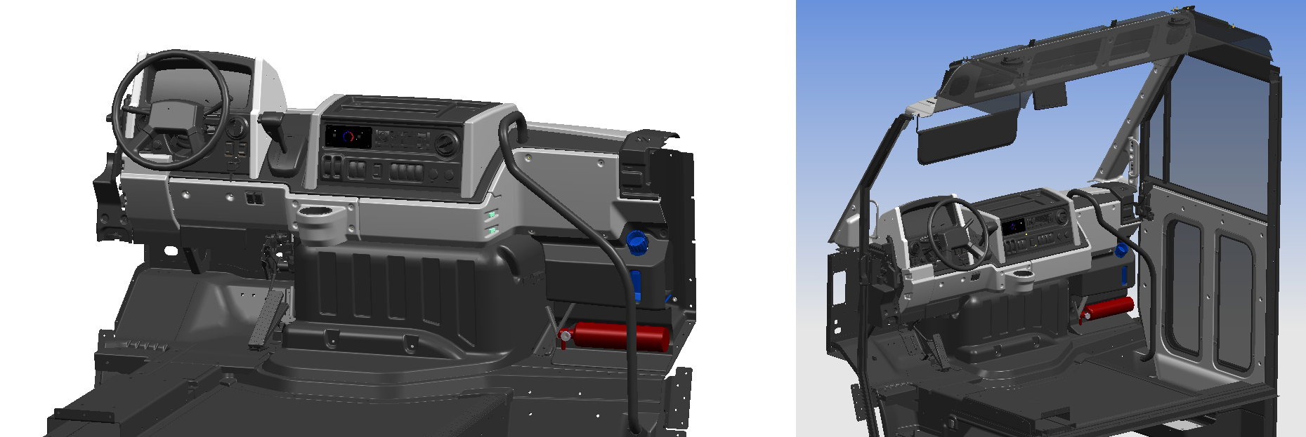 CAD images (provided by Roush)