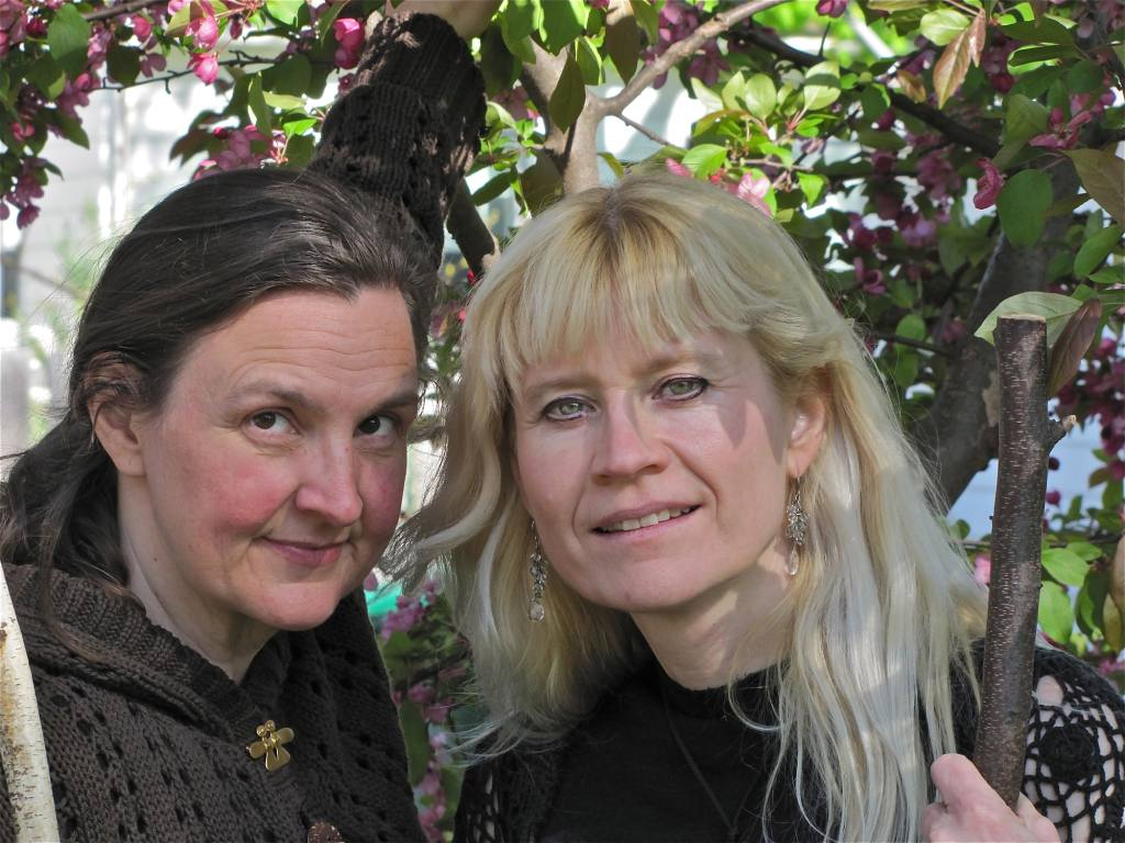 Kari Tauring and Lynette Reini-Grandell. Photo by Drew Miller.