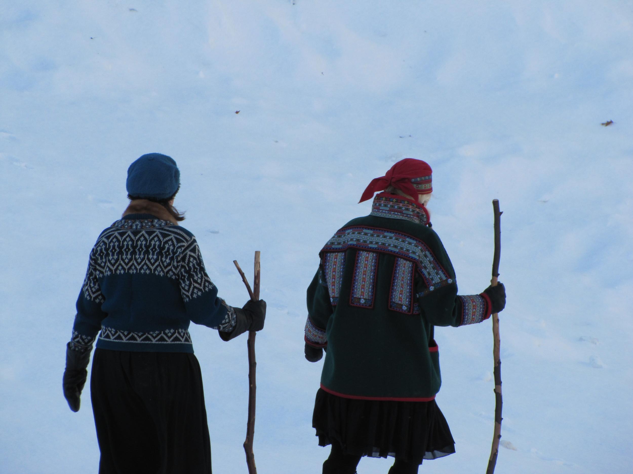 Kari Tauring and Lynette Reini-Grandell. Photo by Drew Miler.