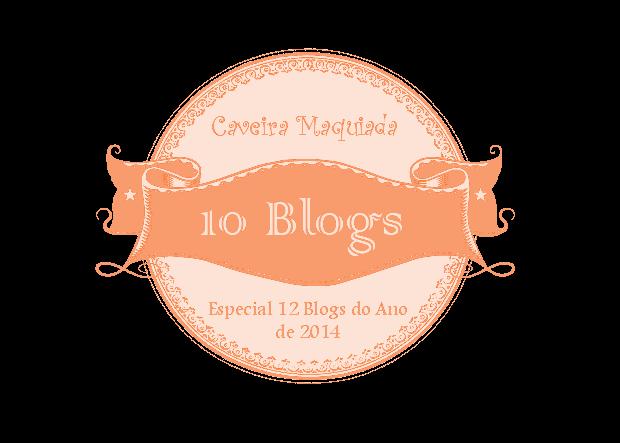 Selo 12 blogs Caveira Maquiada