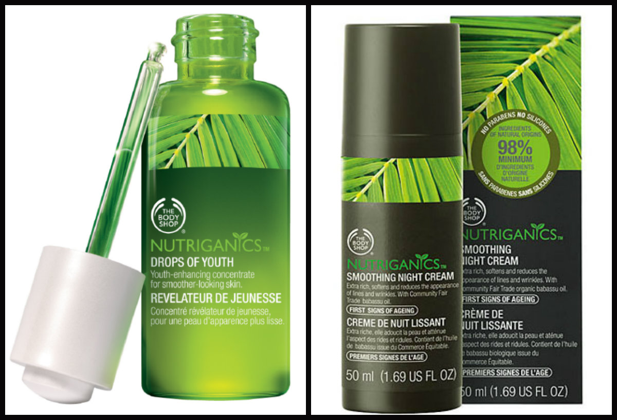 Drops of Youth e Smoothing Night Cream - The Body Shop