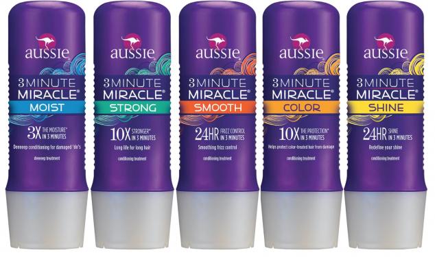 Linha Aussie 3 Minute Miracle