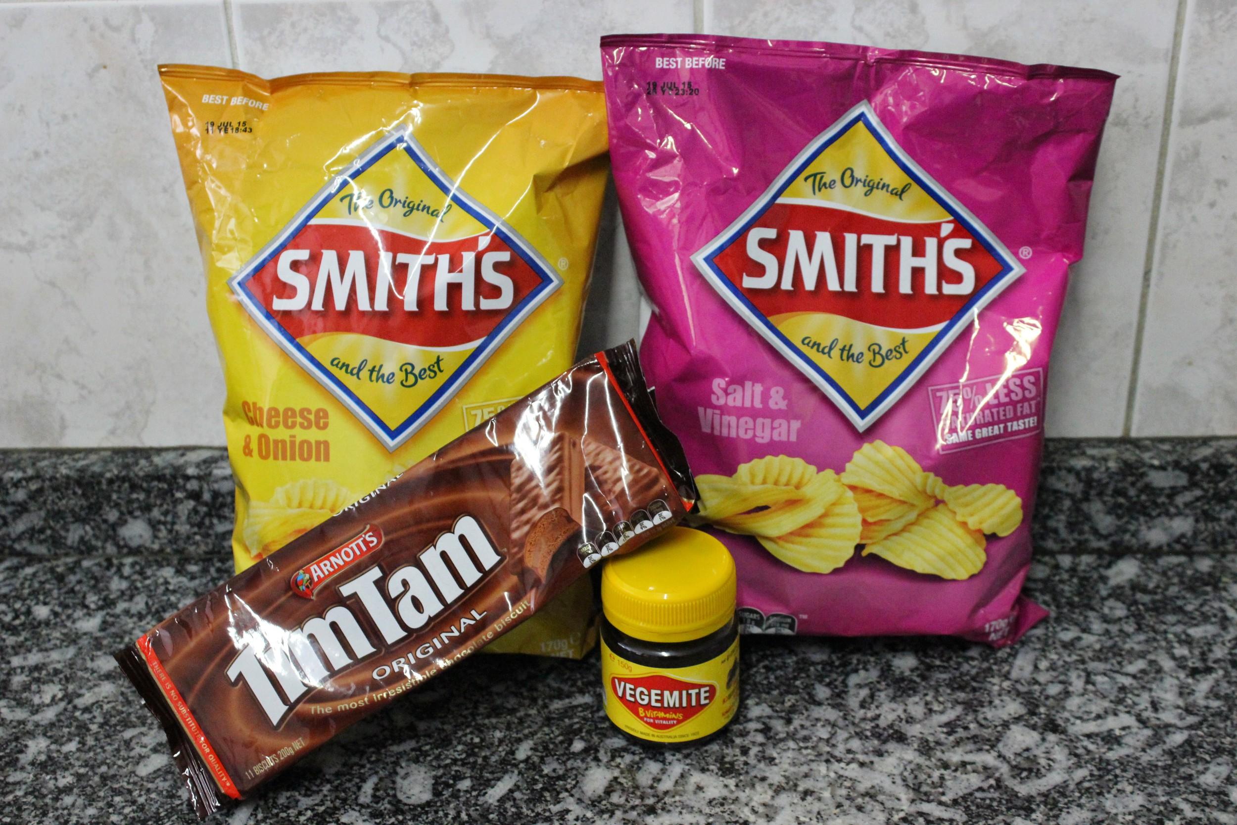 Snacks Australianos! - Foto por Bruno França
