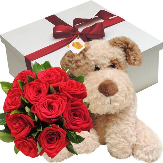 Flores, pelúcias, chocolates e etc, são sugestões de presentes para o dia dos namorados!