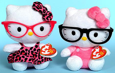 Hello Kitties 4 olhos!