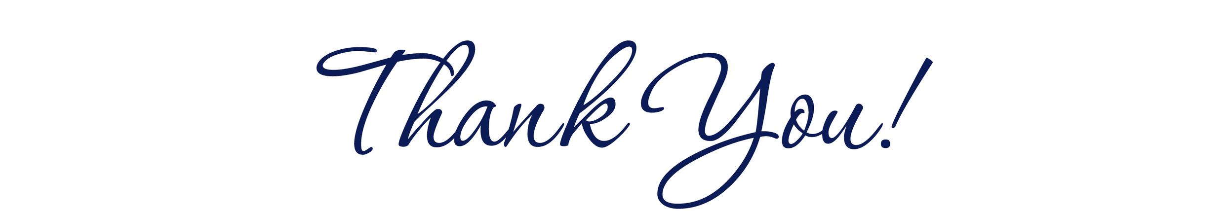 Obrigada do fundo do meu coração a todos vocês!