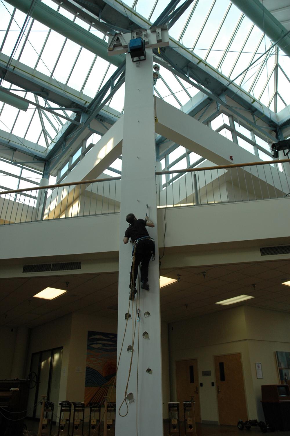 Art Climbing - Climbed half - floor view.JPG