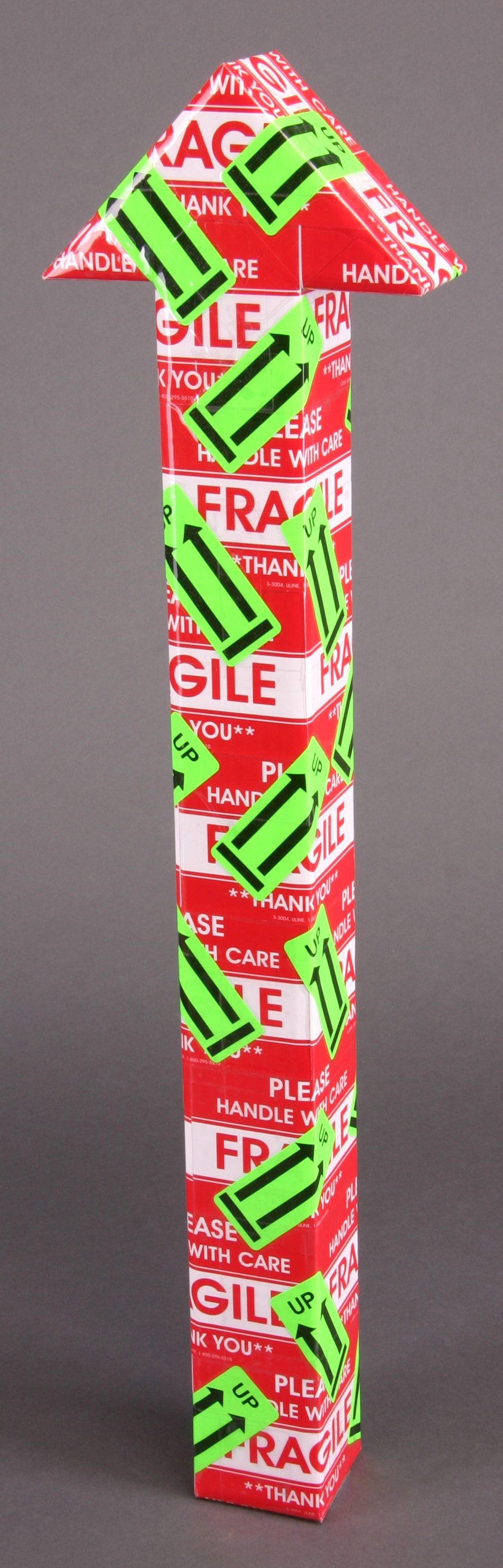 Mini- Red white & green double arows.JPG
