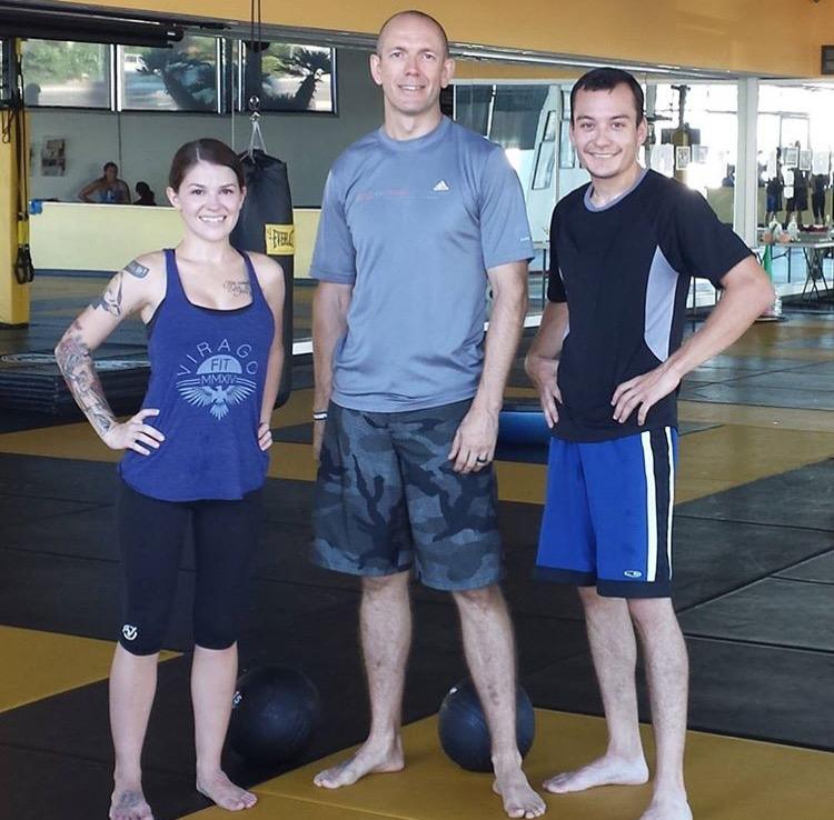(Left to right) Brittney, Nate & Desmund