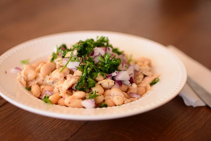 Cannoli Bean Tuna Salad