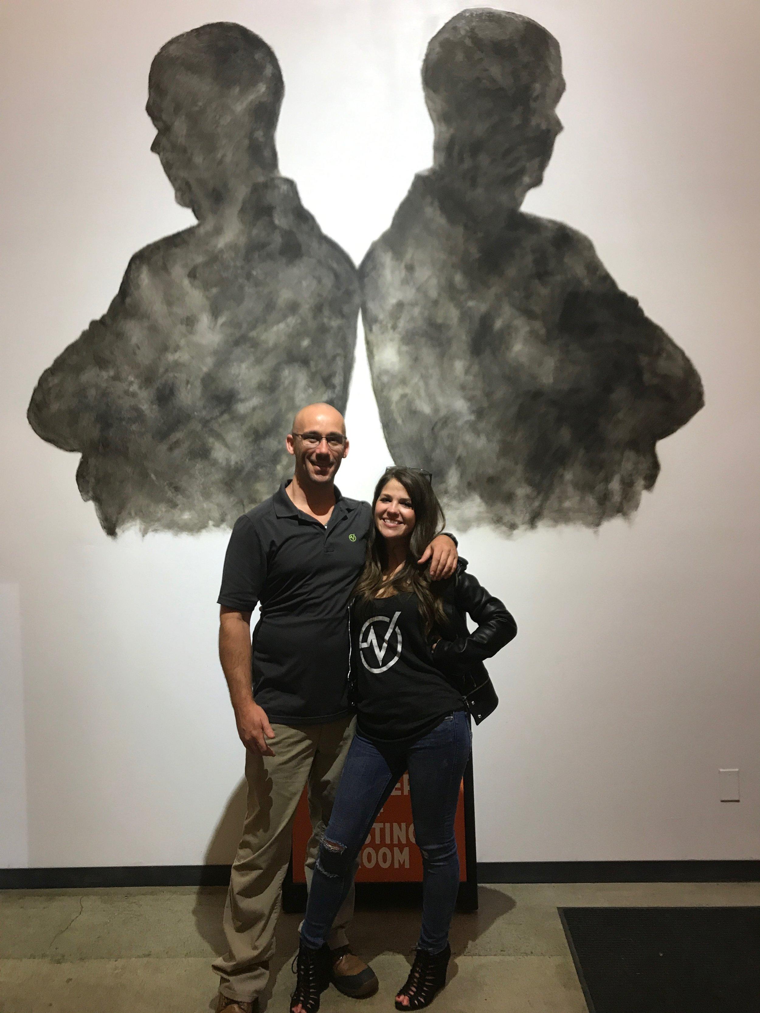 Graham Burkey and Brittney Hogan of Virago Fitness