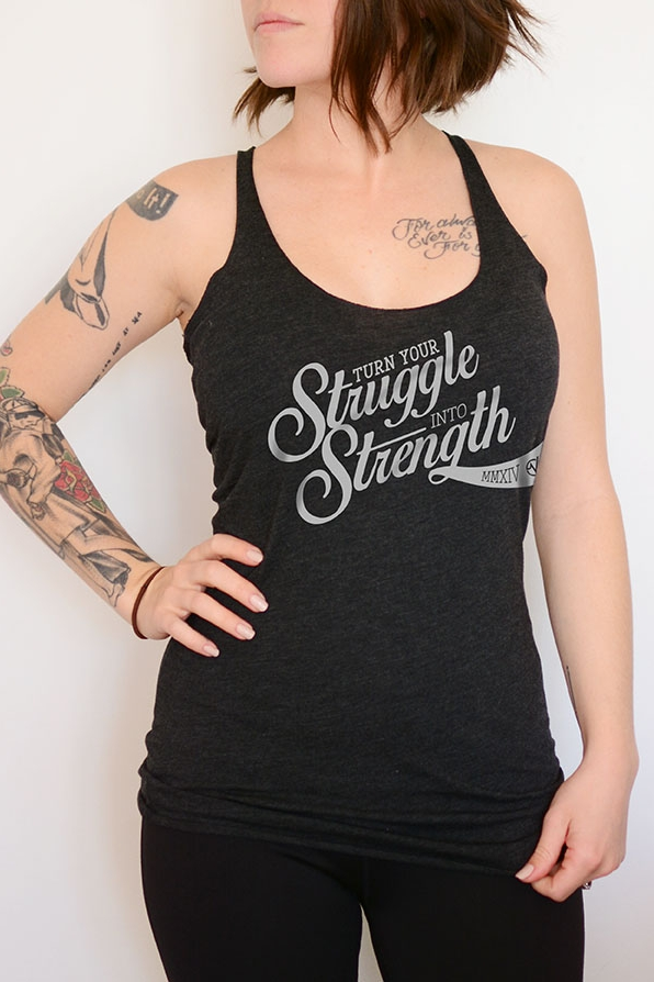 Women's Printed Tank - SKU: W8430MIN QTY 15 / Any Color - Any Size$13.20-$15.40COLORS: Charcoal, Grey, Purple, Royal Blue, Navy, OliveSizes: XS, S, M, L, XL, 2XLView All Designs Here
