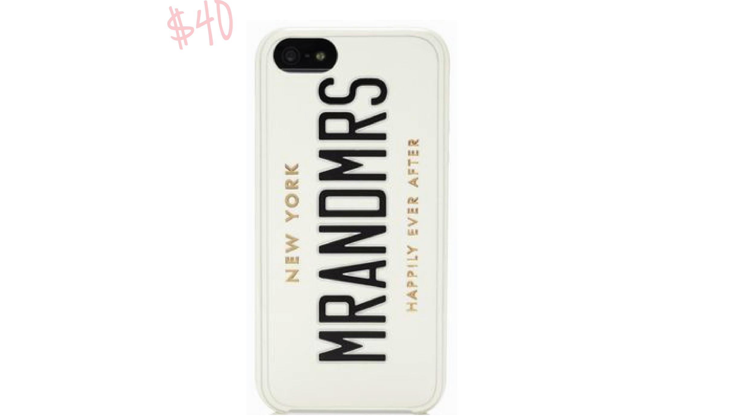 Newlywed iPhone 5 Case