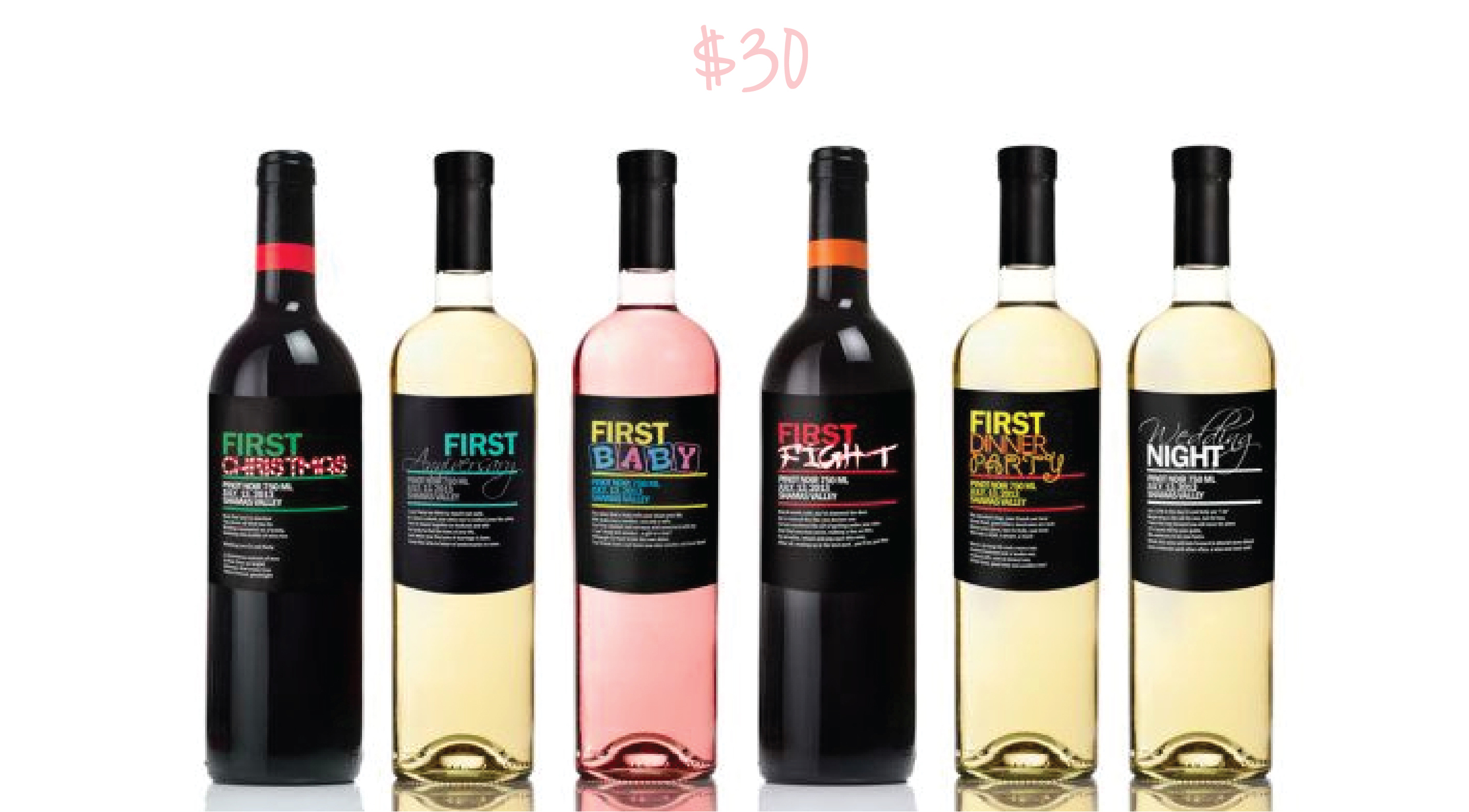 Personalized Wine Labels - Set of 4