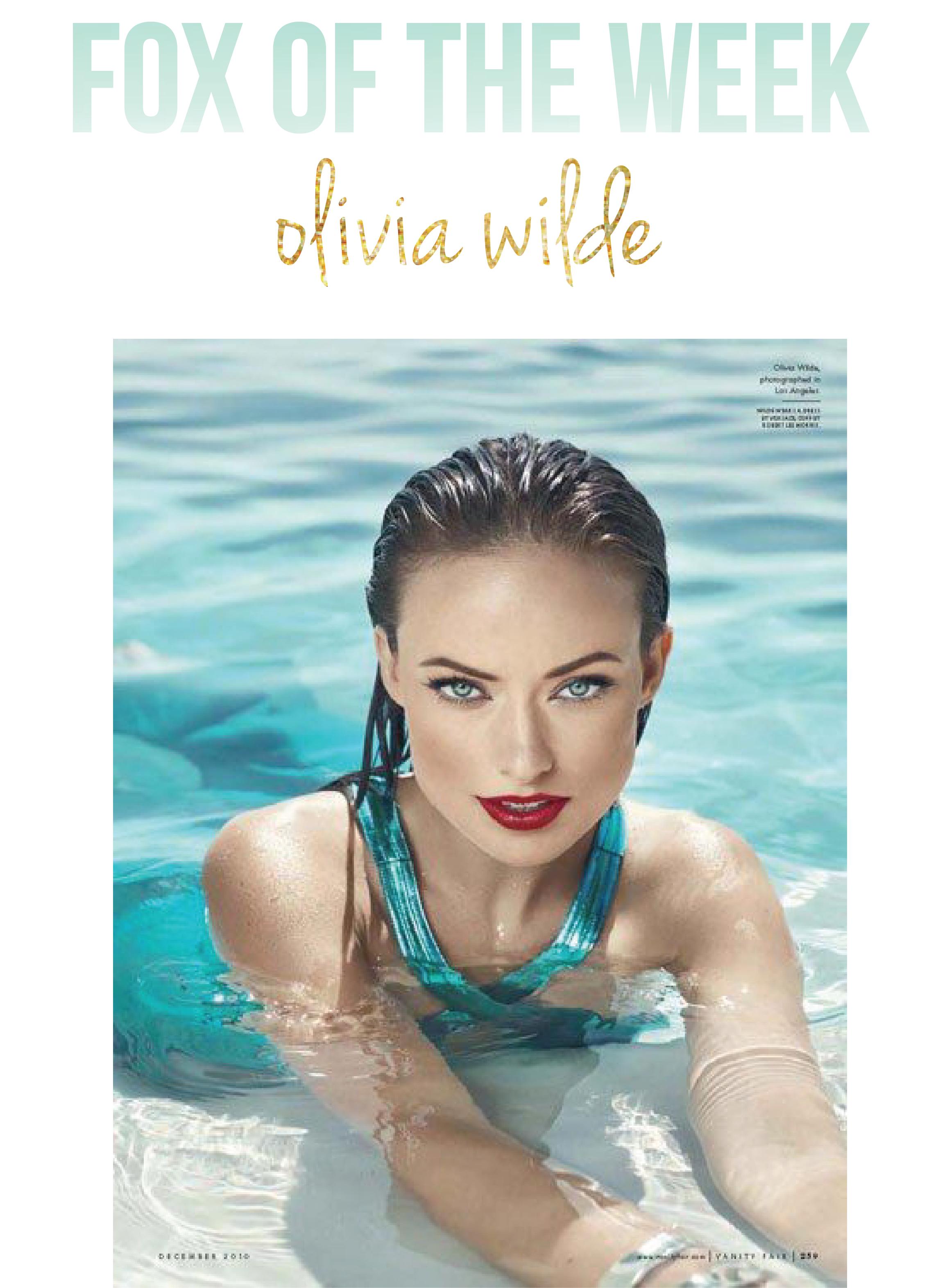 Fox of the Week: Olivia Wilde