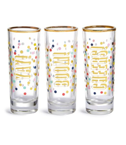 Nordstrom Yay, Boom, Cheers Shot Glass Set - $34