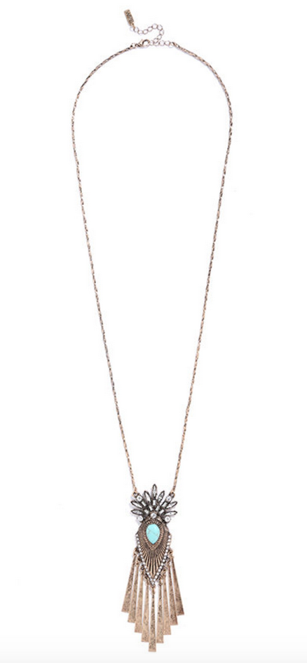 Lulu's Gold Vibes Necklace   $15