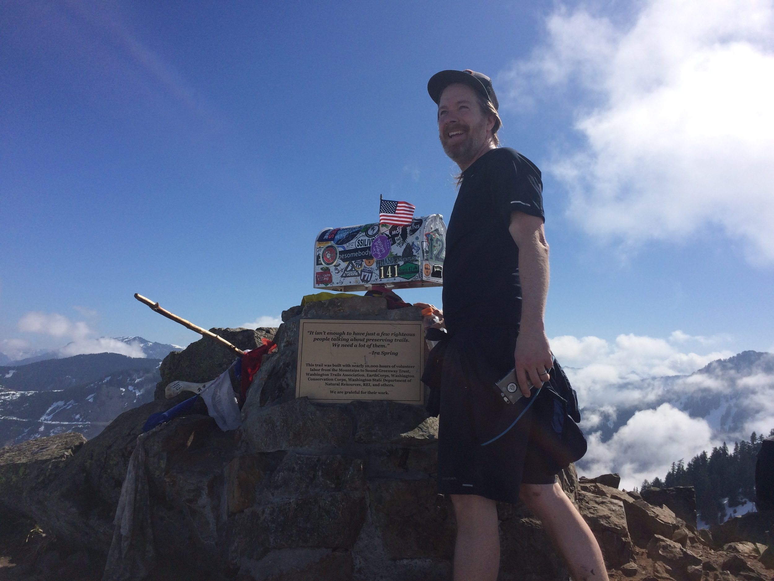 Logging vertical on some of our nearby mountains such as Mailbox Peak is a great way to build specific strength on trail, and with good rewards!
