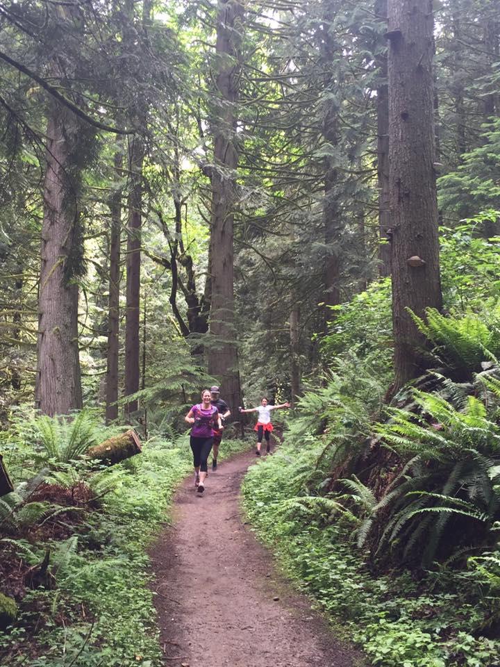 Trail running is FUN!