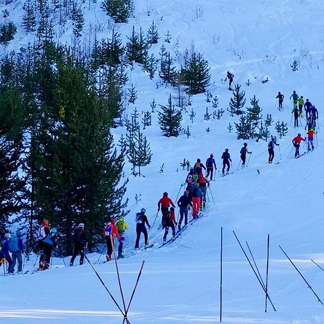 Thanks to everyone who came out the Loup Loup Randonee race yesterday! Our local land trust represented too! We love @methowconservancy and all the volunteers, racers, and sponsors who make this event so fun. #getloupy #skiuphill #lovetheup @snowgoatskimo @pinnaclesalesnw