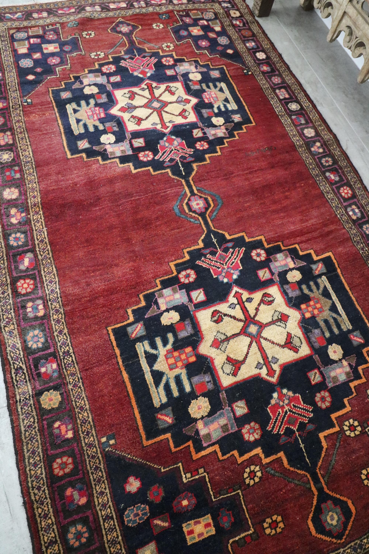 Sydney Medallion Vintage Persian Rug